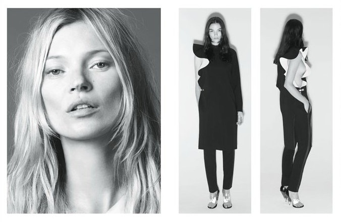 Kate Moss Joins Mariacarla Boscono and Marina Abramovic for Givenchy's Spring 2013 Campaign