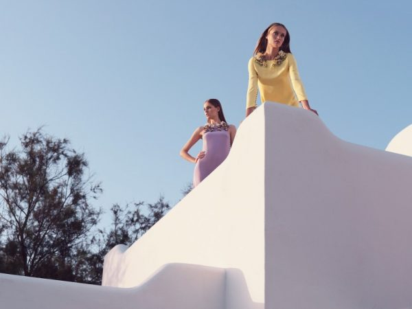 Karmen Pedaru and Nadja Bender Pose for Gucci Style Cruise 2013 by Benjamin Grillon