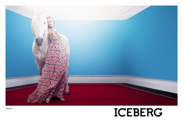 Edita Vilkeviciute Stars in Iceberg's Spring 2013 Campaign by Willy Vanderperre