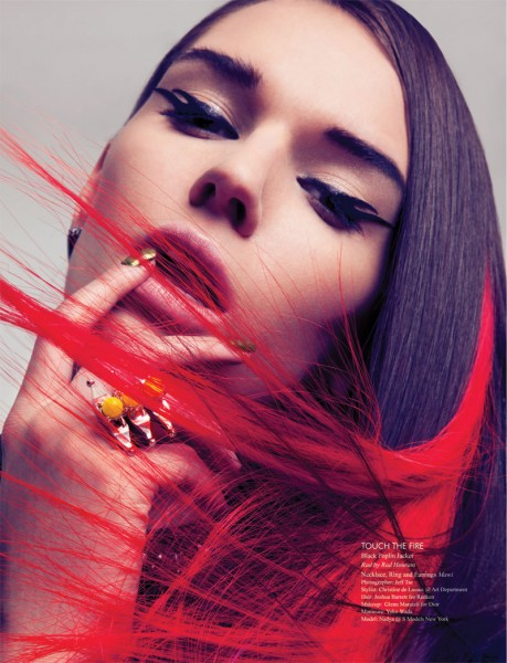 "Nadya Trofimova by Jeff Tse in ""Candy Punk"" for Fashion Gone Rogue Print"