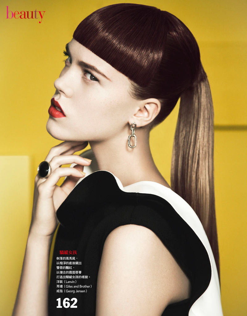 Josefien Rodermans Poses for Yossi Michaeli in Vogue Taiwan January 2013
