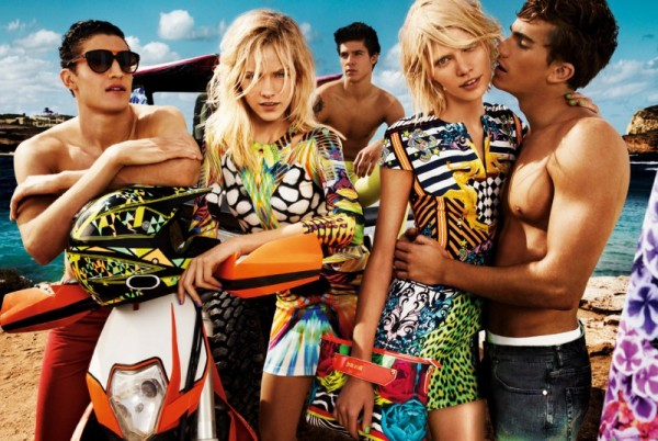 Aline Weber, Ginta Lapina and Emily DiDonato Star in Just Cavalli Spring 2013 Campaign