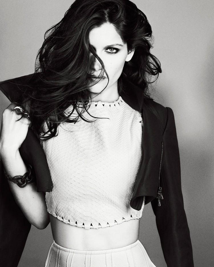 Laetitia Casta Rocks Refined Edge for Glamour France February 2013 by Paul Schmidt