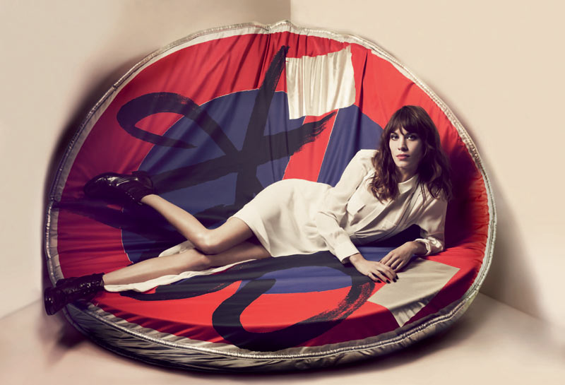 Alexa Chung Stars in Maje Spring 2013 Campaign by Craig McDean
