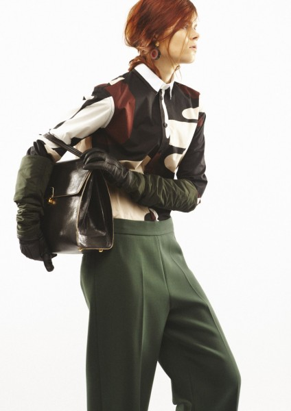 MarniPreFall7 424x600 Marni Mixes Function with Style for its Pre Fall 2013 Collection