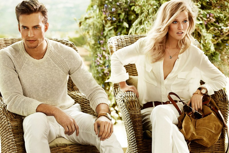 Massimo Dutti Taps Toni Garrn for its Spring 2013 Campaign by Mario Testino