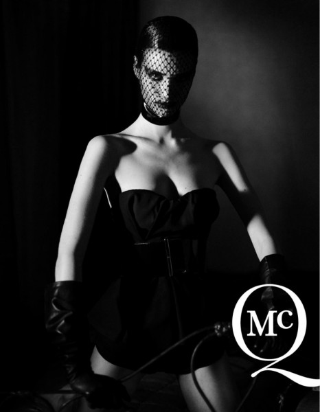 McQ by Alexander McQueen's Spring 2013 Campaign Takes on Fetish Style with Manon Leloup