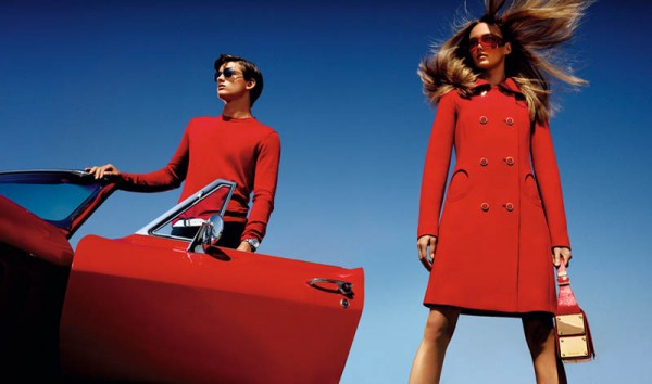 Karmen Pedaru is California Glam for Michael Kors' Spring 2013 Campaign by Mario Testino