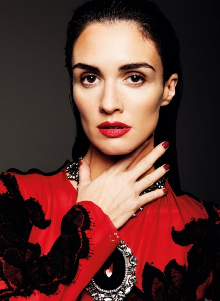 Paz Vega Gets Sultry for So Chic Magazine by Gianluca Fontana