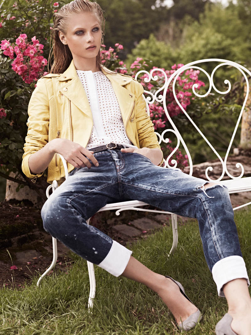 Anna Selezneva Keeps it Understated in Pierre Balmain's Spring 2013 Campaign