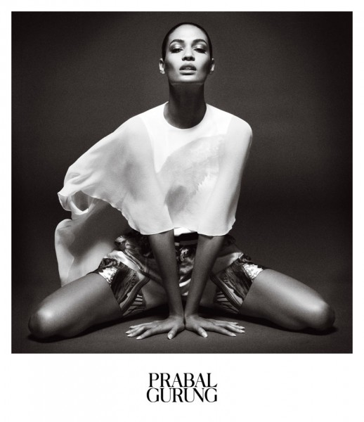 Prabal Gurung Taps Joan Smalls for Spring 2013 Campaign by Daniel Jackson