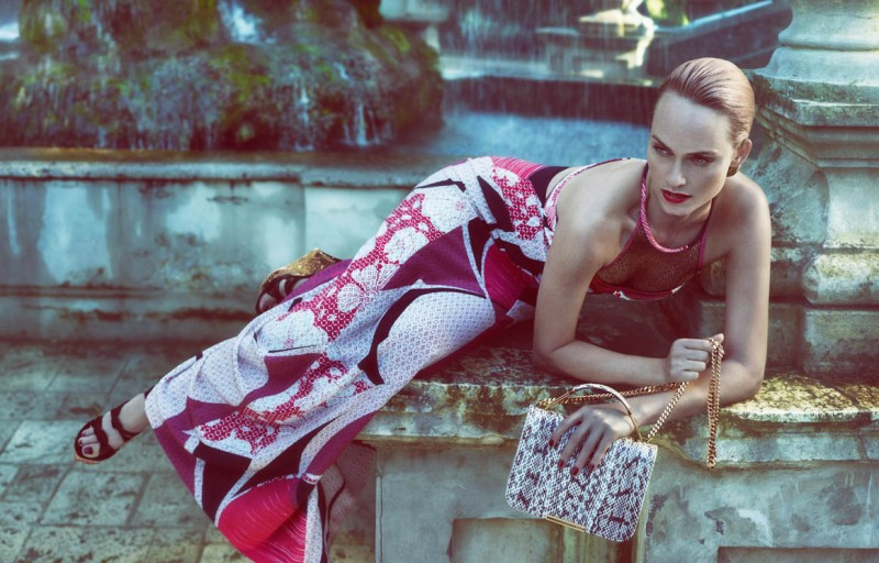 Amber Valletta Returns for Emilio Pucci Spring 2013 Campaign by Mert & Marcus