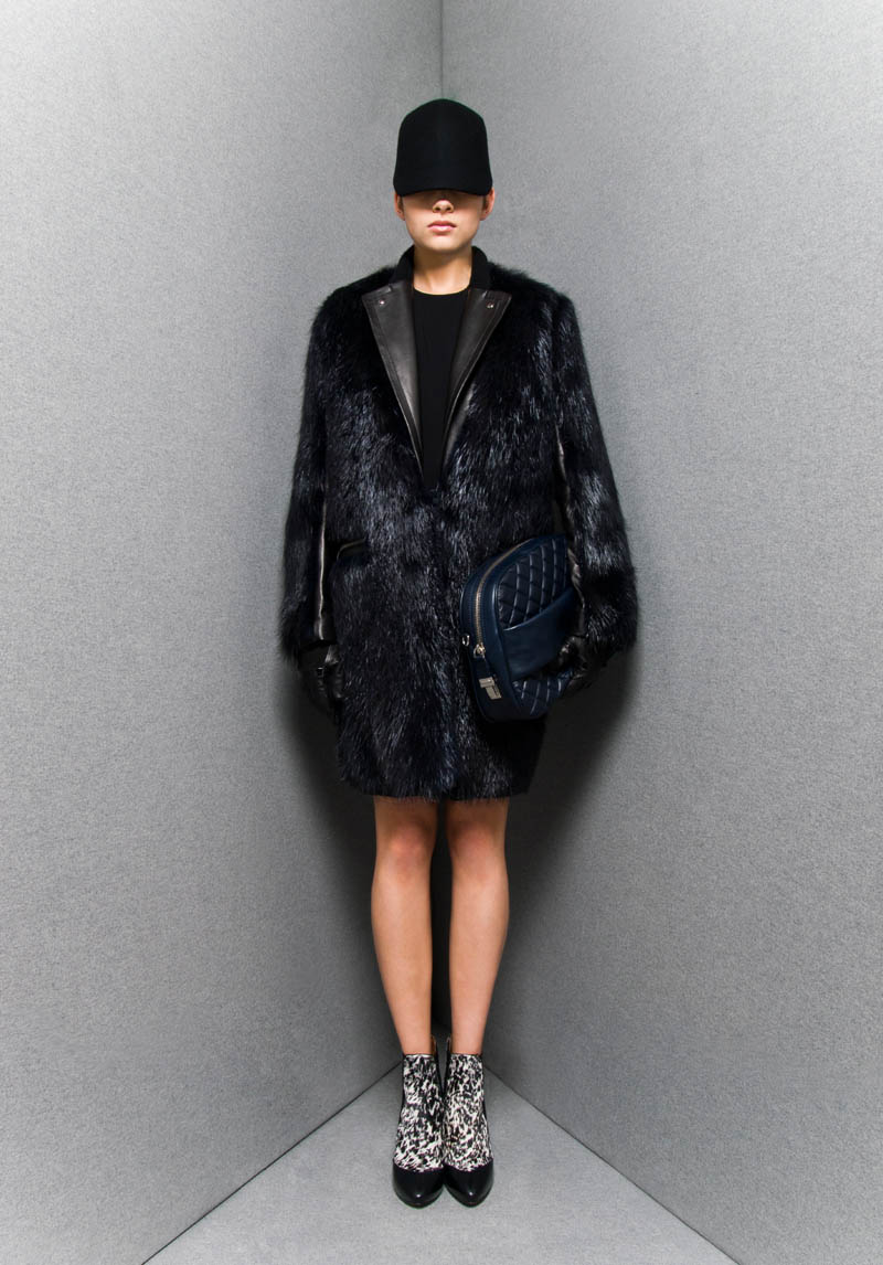 Sportmax's Dark, Voluminous Pre-Fall 2013 Collection