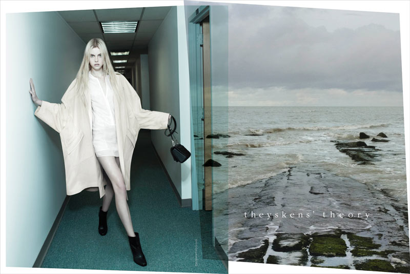 Theyskens' Theory Spring 2013 Campaign Stars Wylie Hays by Willy Vanderperre