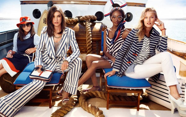 Tommy Hilfiger Taps Toni Garrn, Jacquelyn Jablonski and Jourdan Dunn for its Spring 2013 Campaign
