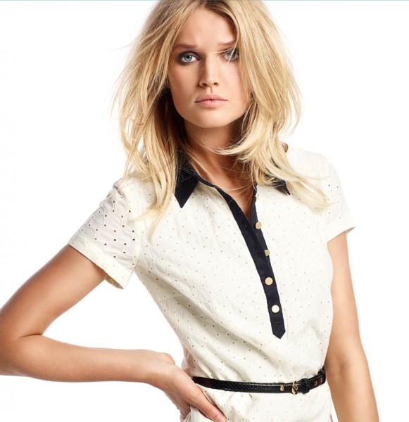Toni Garrn Models Oui Spring/Summer 2013 Collection