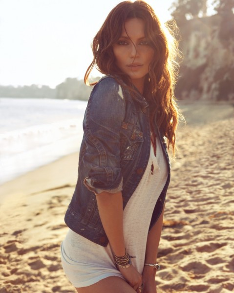 Catrinel Menghia Takes to Malibu for True Religion Spring 2013 Campaign by Camilla Akrans