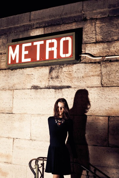 Cris Herrmann Models Parisian Chic for L'Officiel Turkey's February Issue