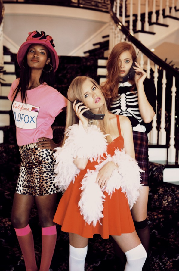 "Wildfox Channels 90's Classic ""Clueless"" for S/S 2013 Collection"