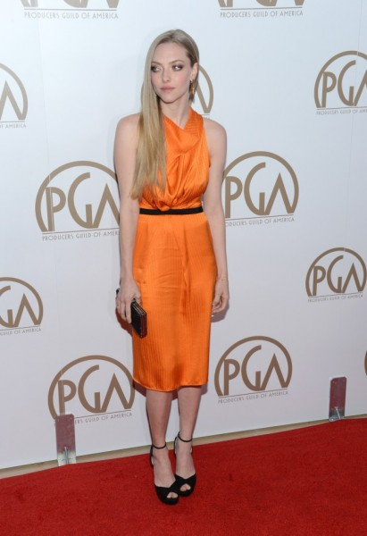 Amanda Seyfried in Roland Mouret at the 24th Annual Producers Guild Awards