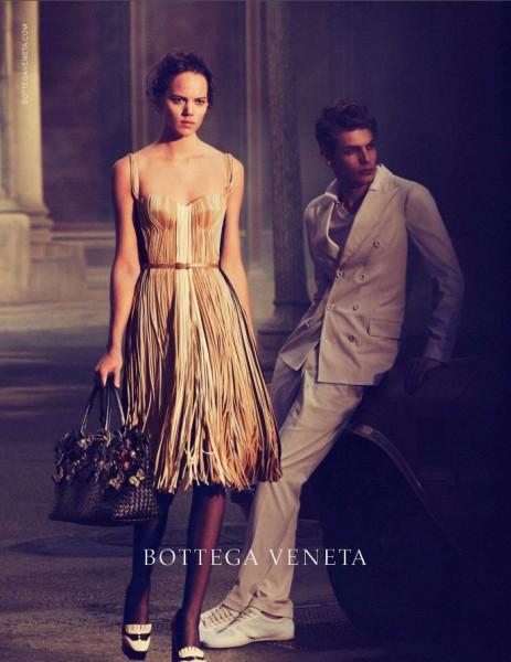 Freja Beha Erichsen Stars in Bottega Veneta Spring 2013 Campaign by Peter Lindbergh