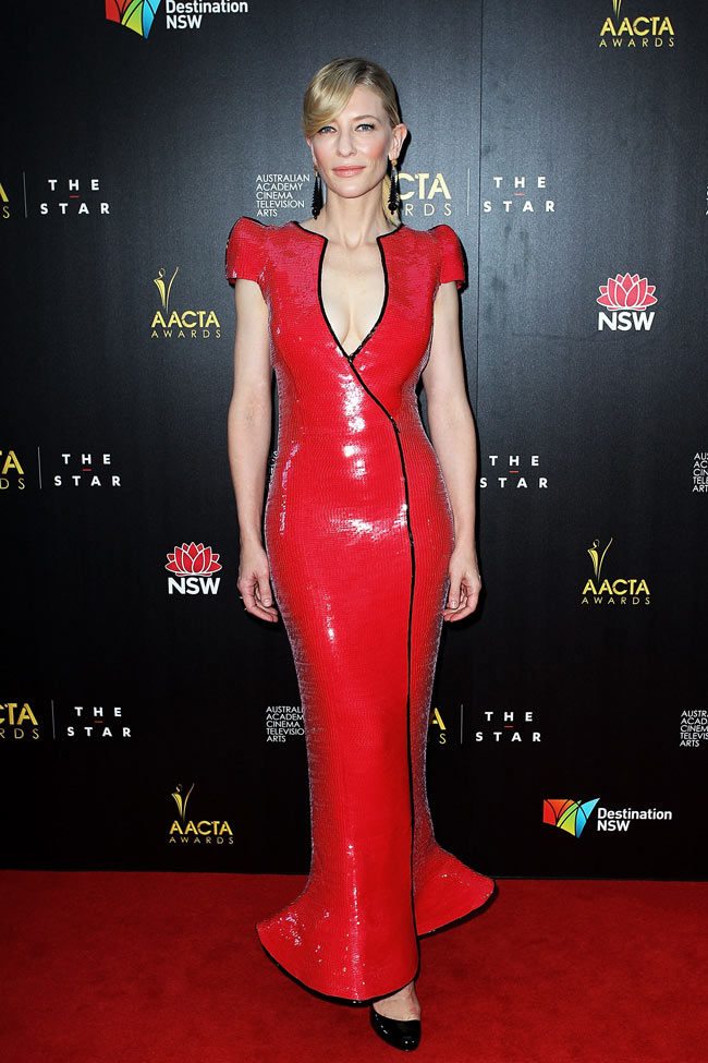 Cate Blanchett in Armani Prive at the 2nd Annual AACTA Awards