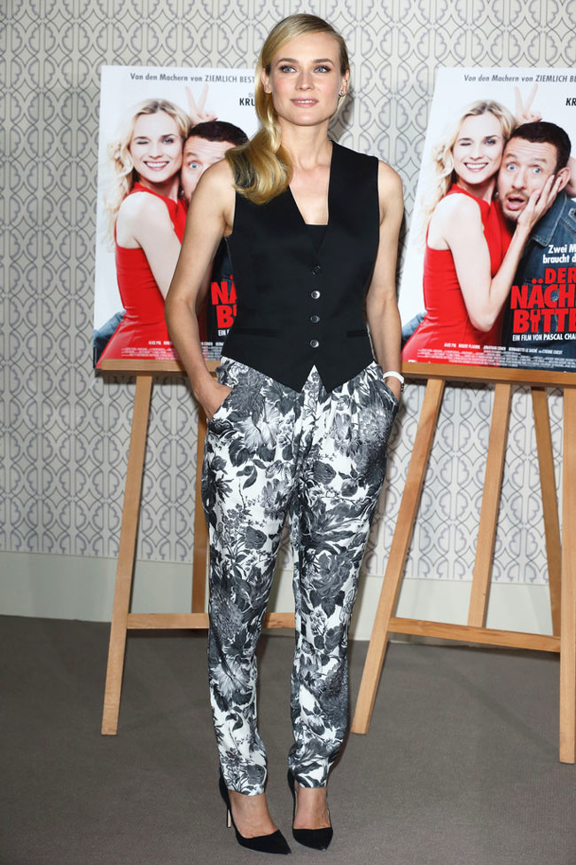 "Diane Kruger in Stella McCartney at the ""Der Naechste, Bitte!"" Photo Call"