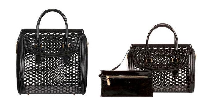 Alexander McQueen Heroine Bag Collection for Spring/Summer 2013