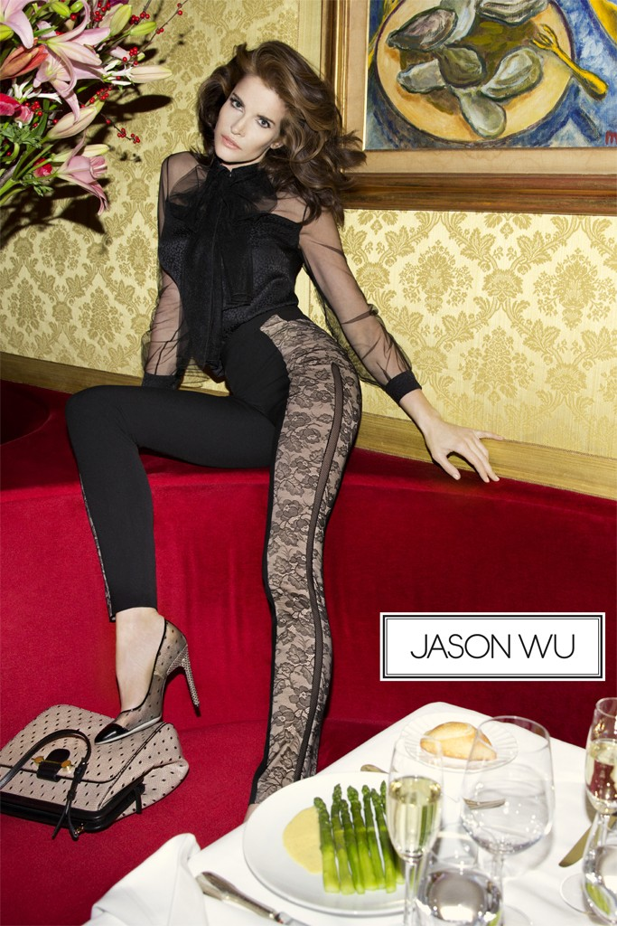 Stephanie Seymour Stars in Jason Wu Spring 2013 Campaign by Inez & Vinoodh
