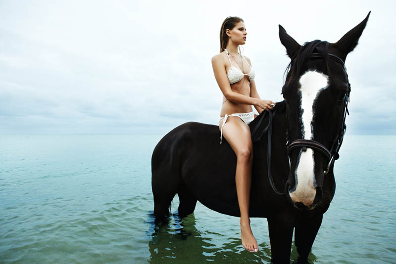 """Juliana Forge by Jaclyn Adams in """"All the Wild Horses"""" for Fashion Gone Rogue"""