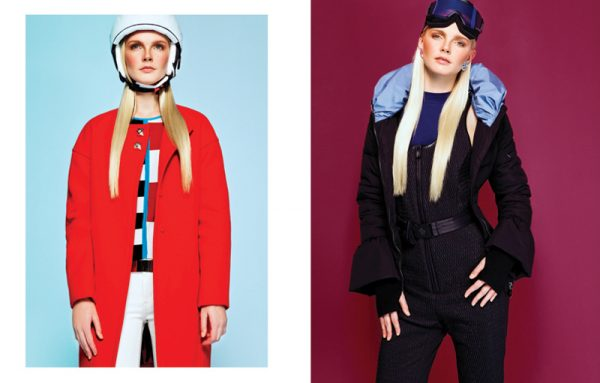 Enly Looks Ready to Hit the Slopes in L'Officiel Turkey January 2013 by Ceylan Sözer