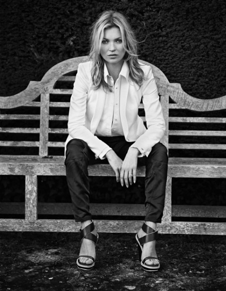 Kate Moss Returns to England for Rag & Bone's Spring 2013 Campaign