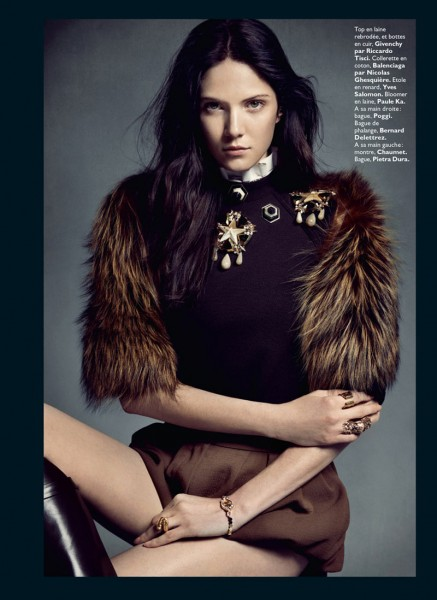 Honer Akrawi Captures Maria Flávia Ferrari and Alexandra Tikerpuu in Baroque Luxe for Grazia France
