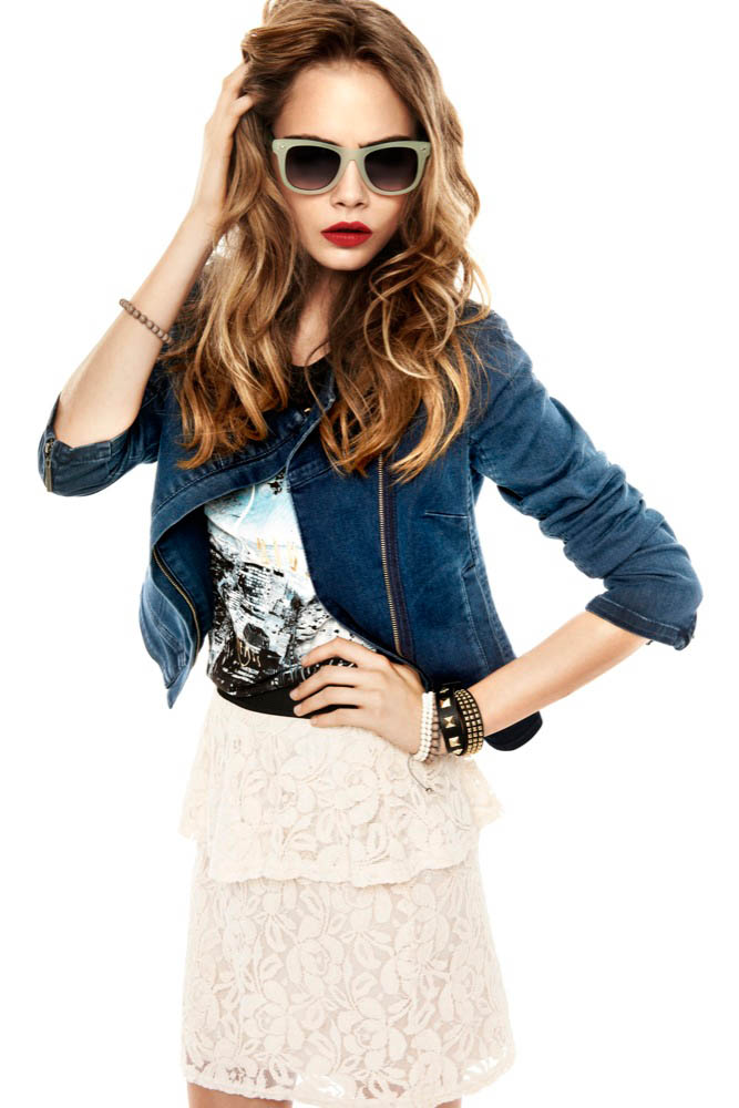 Cara Delevingne Stars in Reserved's Spring 2013 Lookbook by Mateusz Stankiewicz