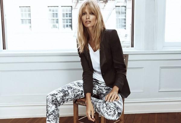 Julia Stegner Fronts Filippa K Spring 2013 Campaign