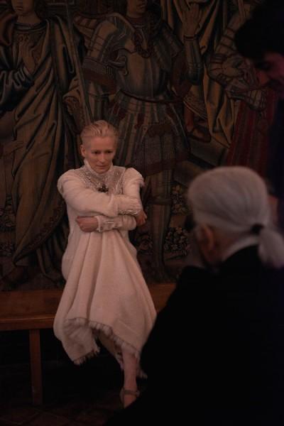 Chanel Taps Tilda Swinton for Pre-Fall 2013 Campaign