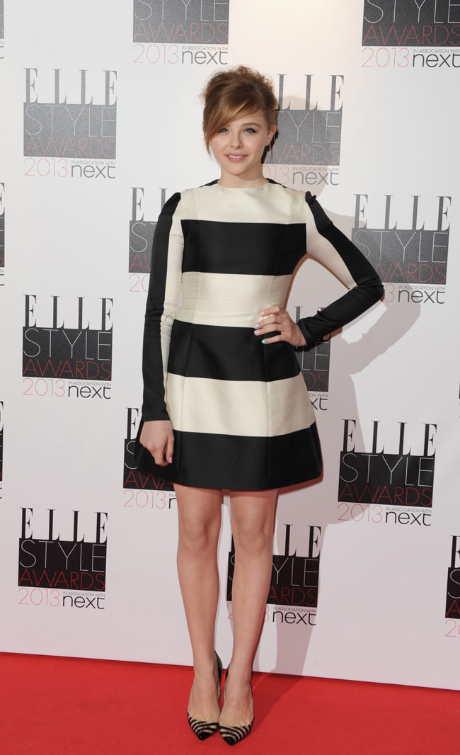 Chloe Moretz in Stella McCartney at the ELLE UK Style Awards
