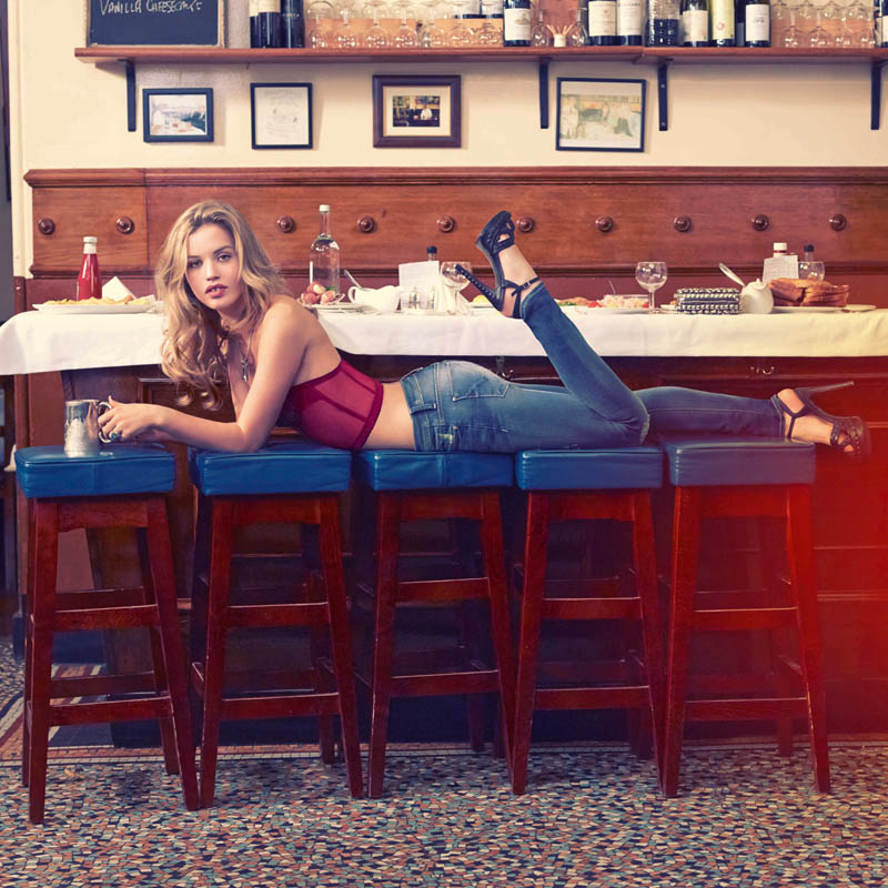 Georgia May Jagger Stars in Instagram Inspired, Hudson Jeans Spring 2013 Campaign
