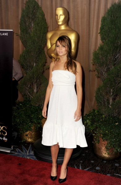 Jennifer Lawrence in Chloe at the 85th Annual Academy Awards Nominees Luncheon
