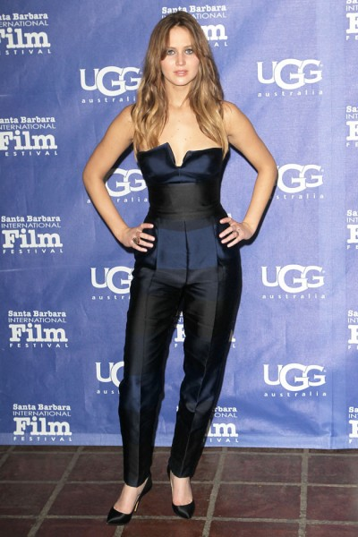 Jennifer Lawrence in Stella McCartney at the Santa Barbara Film Festival