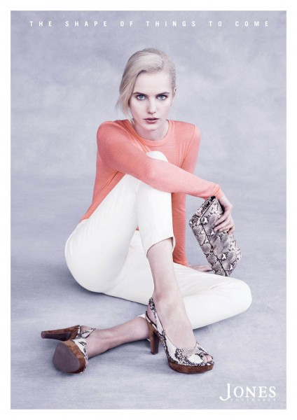 Anmari Botha Stars in Jones Bootmaker Spring 2013 Campaign by Ben Weller