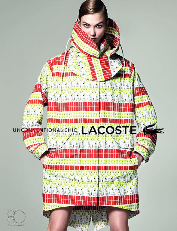 Karlie Kloss Gets Sporty for Lacoste's Spring 2013 Campaign by David Sims