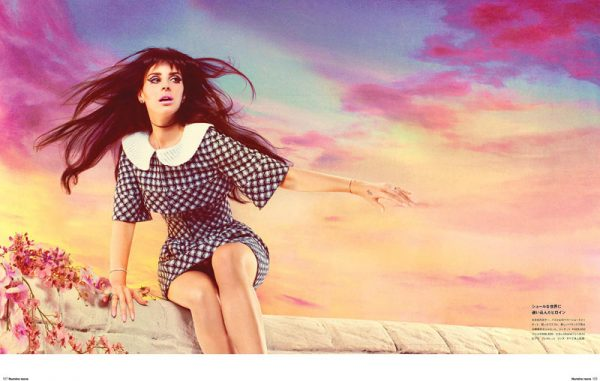 Lana Del Rey Stars in Manga-Inspired Shoot for Numéro Tokyo by Mariano Vivanco