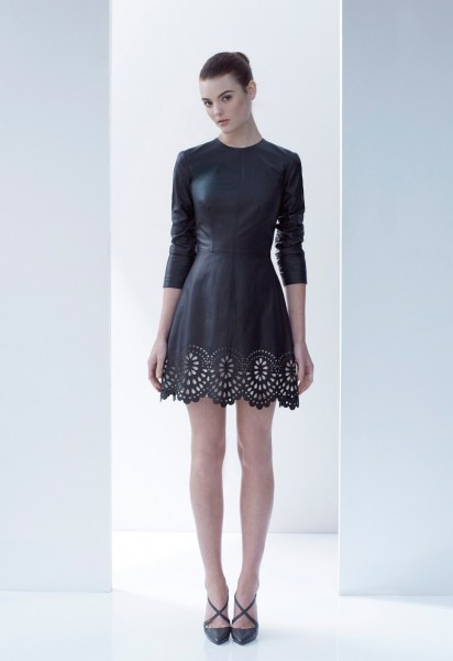 Lover Offers Lace and Leather for its Fall/Winter 2013 Collection