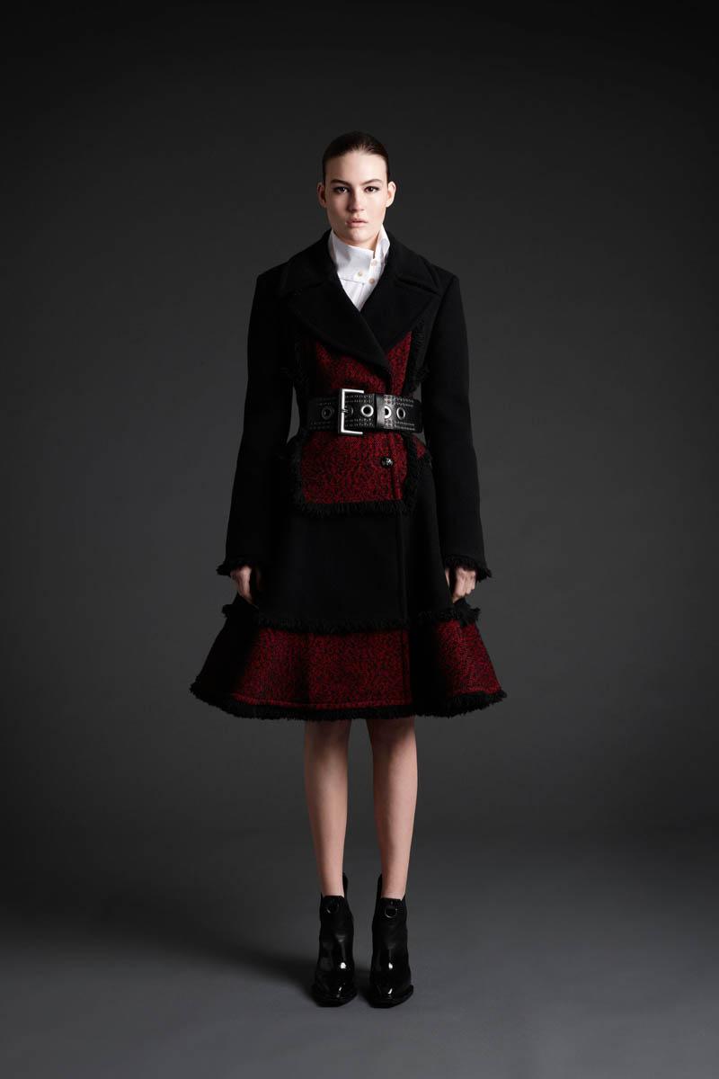 Maria Bradley Models McQ Alexander McQueen's Fall/Winter 2013 Collection
