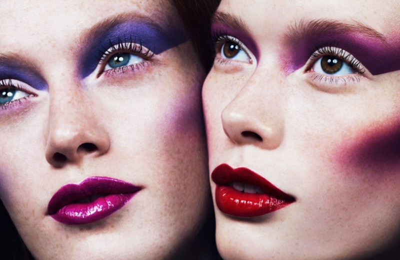 Marcus Ohlsson Captures Colorful Beauty for French Revue de Modes #22