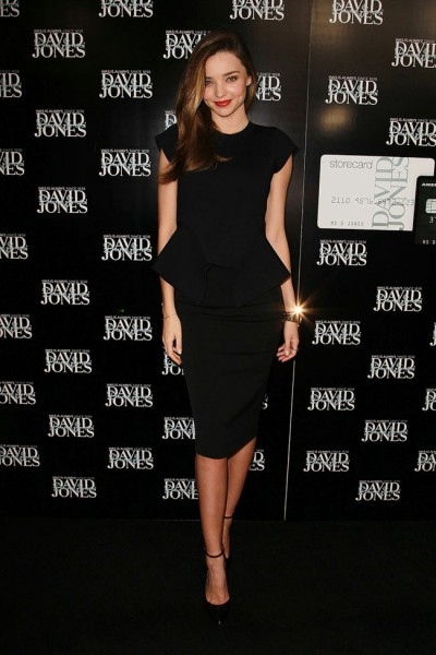 Miranda Kerr in Scanlan & Theodore at David Jones Fashion Workshop