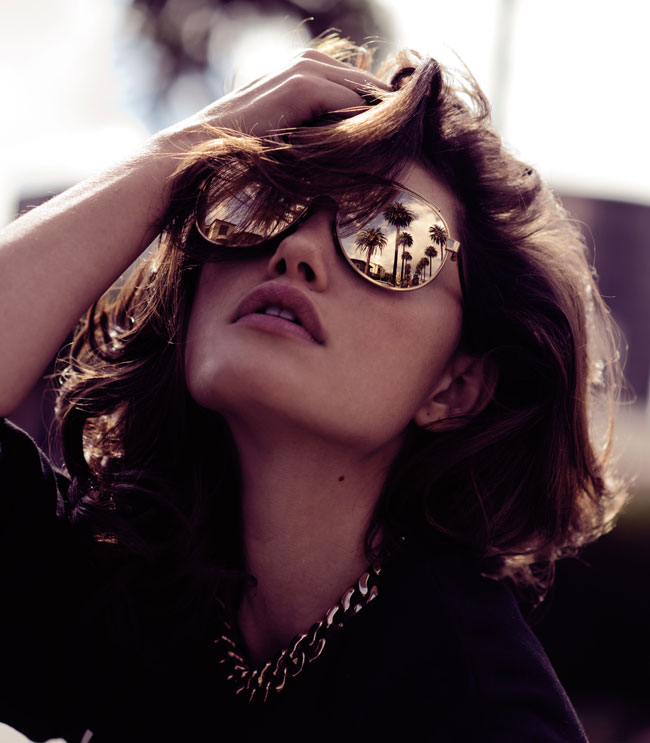 "Phoebe Tonkin by Zanita Morgan in ""Phoebe Takes LA"" for Fashion Gone Rogue"