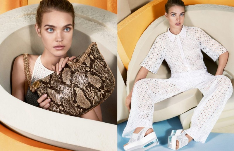 Natalia Vodianova Returns for Stella McCartney Spring 2013 Campaign by Mert & Marcus