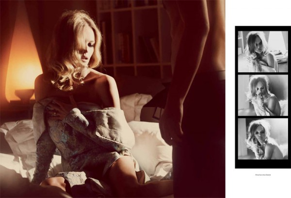 Kate Bosworth Seduces in Vs. Magazine S/S 2013 by Guy Aroch